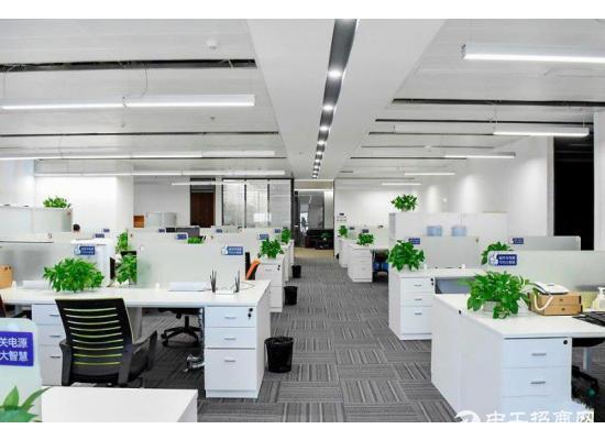 科技园 深大站 讯美科技广场 精装800平 带家私电梯口单位图片1