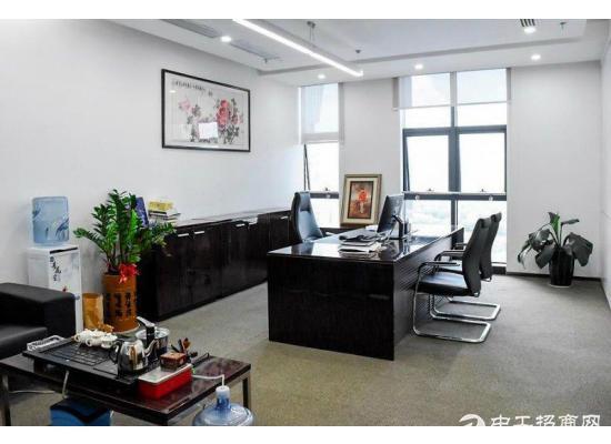 科技园 深大站 讯美科技广场 精装800平 带家私电梯口单位图片5