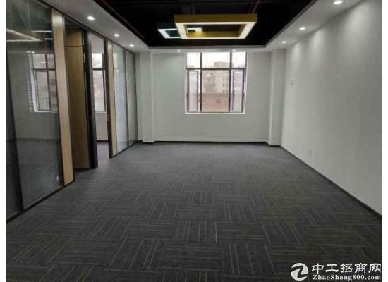 西丽 聚创金谷创意园7号线附近精装修办公室150平特价出租