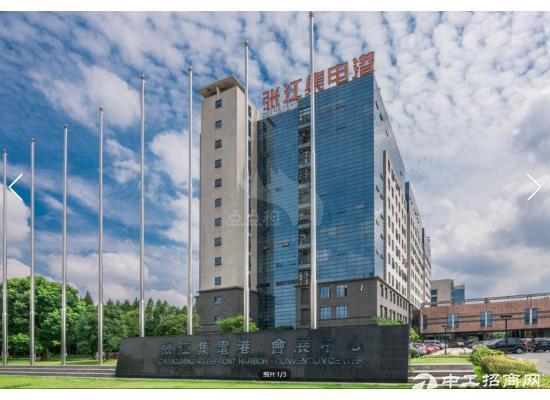 张江集电港339平精装修 可接上下水 带大货梯研发办公
