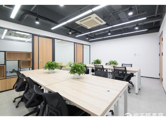 直租精装办公室带电脑即可办公可注/册100平米可用公共休闲区
