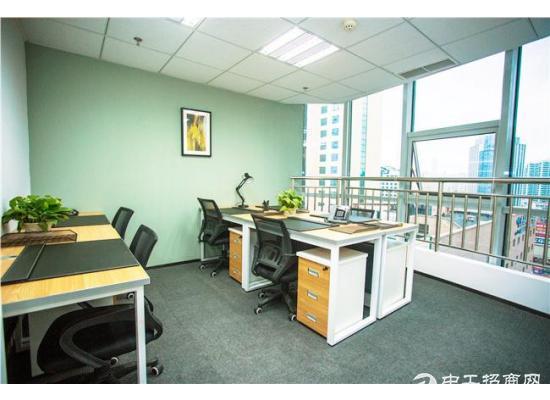 可月付!中小户型办公室,2至8人团队首选,非中介!