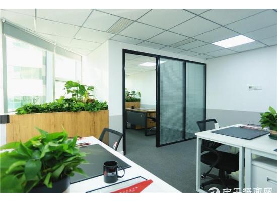 崂山写字楼出租,30~120平办公室,精装全配,杂费全免