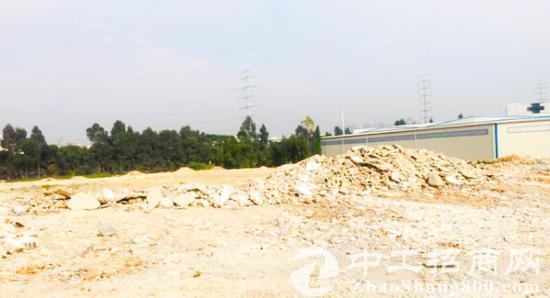 深圳周边电子信息产业基地出售红本地皮35亩