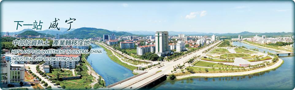 咸宁广东工业园风采