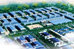 胜芳国际产业园二期鸟瞰图